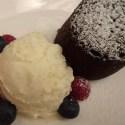 Chocolate Fondant - Menu Marker