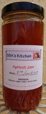 Apricot Jam Jar