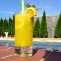 Zingy Citrus Mocktail - Menu Marker