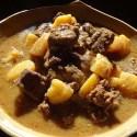 Thai Beef Massaman Curry - Menu Marker