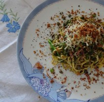 Pasta with Purple Sprouting Broccoli - 1